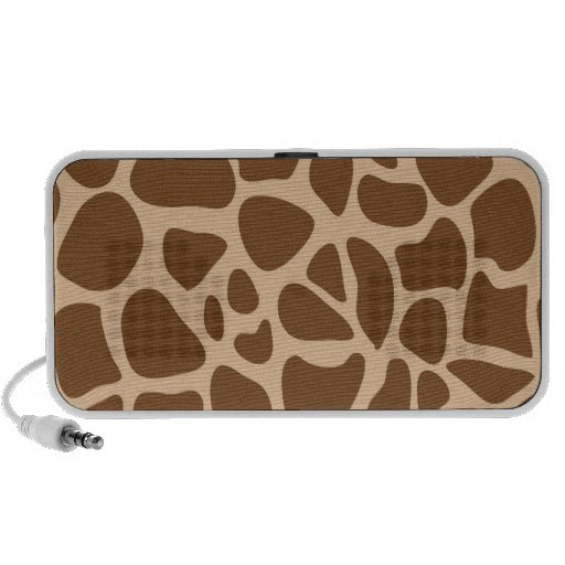 Giraffe Print Wild Animal Patterns Gifts for Her Portable Speakers