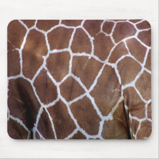Giraffe prints, skin mouse mat