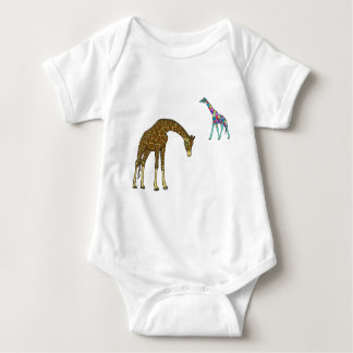 Giraffe product baby bodysuit