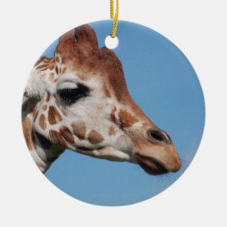 Giraffe Profile Ornament