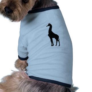 Giraffe Ringer Dog Shirt