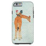 Giraffe & Rooster  iPhone 6 case Tough iPhone 6 Case