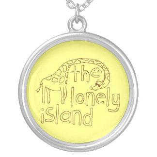 Giraffe Round Pendant Necklace