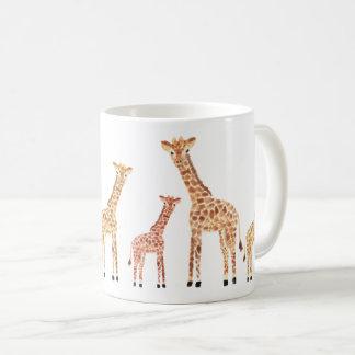 Giraffe Safari Print Coffee Mug