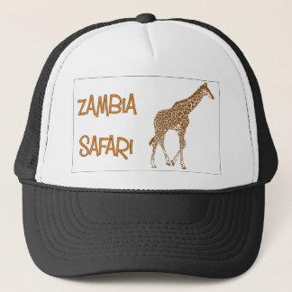 Giraffe Safari Zambia Cap