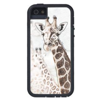 Giraffe Sketch Tough Xtreme iPhone 5 Case