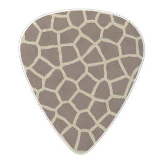 Giraffe Skin Acetal Guitar Pick