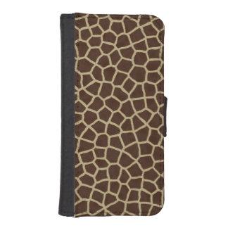 Giraffe Skin iPhone SE/5/5s Wallet Case