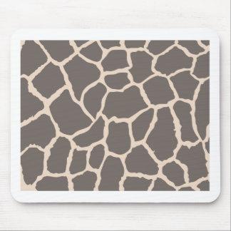 Giraffe Skin Pattern Mousepads