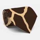 Giraffe Skin Pattern Tie