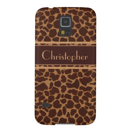 Giraffe Skin Print Pattern Galaxy Nexus Case