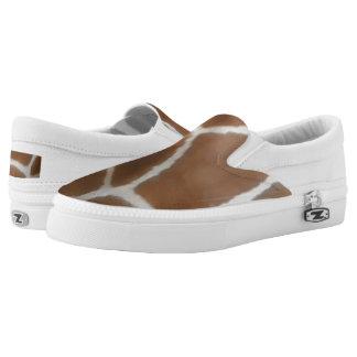 GIRAFFE SKIN Slip-On SHOES