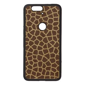 Giraffe Skin Wood Nexus 6P Case