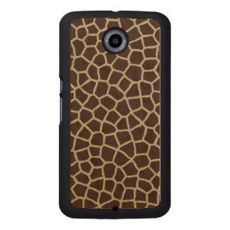 Giraffe Skin Wood Phone Case
