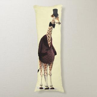 Giraffe Smoking Jacket Body Cushion