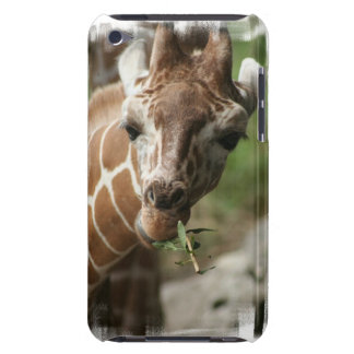 Giraffe Snack iTouch Case Barely There iPod Covers