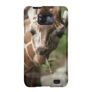 Giraffe Snack Samsung Galaxy Case Samsung Galaxy SII Cover