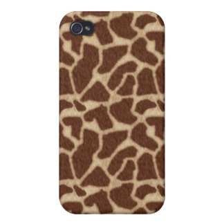 Giraffe Spots 2 Covers For iPhone 4