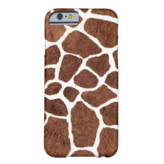 Giraffe spots barely there iPhone 6 case