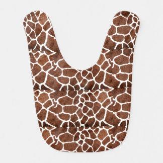 Giraffe spots bib