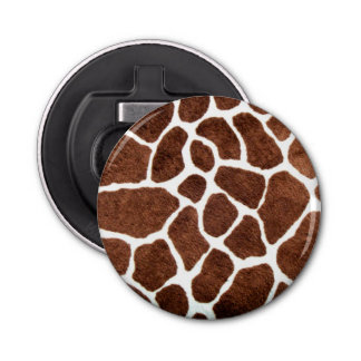 Giraffe spots bottle opener