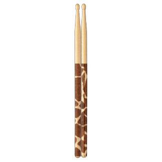 Giraffe spots drumsticks