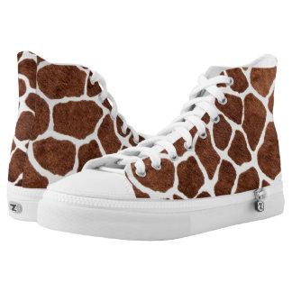 Giraffe spots high tops