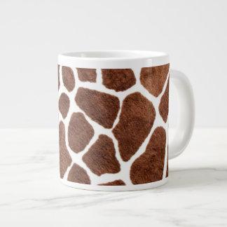 Giraffe spots large coffee mug