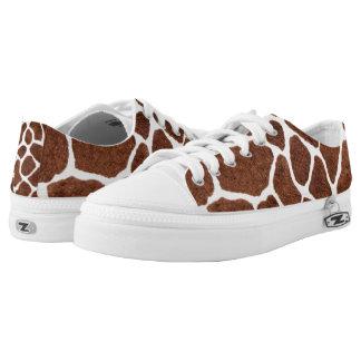 Giraffe spots low tops