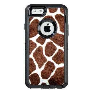 Giraffe spots OtterBox defender iPhone case