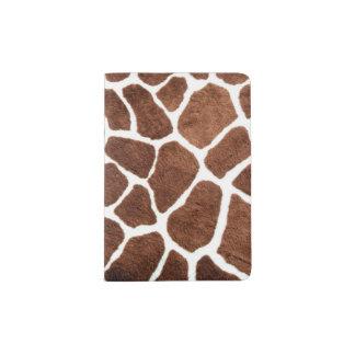 Giraffe spots passport holder