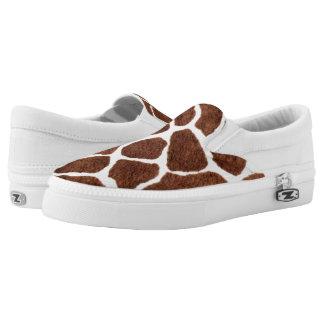 Giraffe spots Slip-On shoes