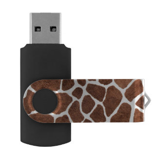 Giraffe spots USB flash drive