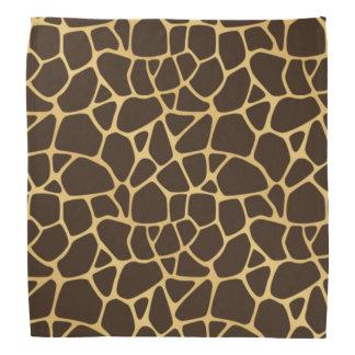 Giraffe Spotted Background Bandana
