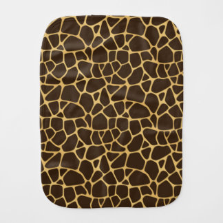 Giraffe Spotted Background Burp Cloth