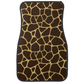 Giraffe Spotted Background Car Mat
