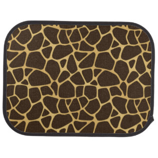 Giraffe Spotted Background Floor Mat