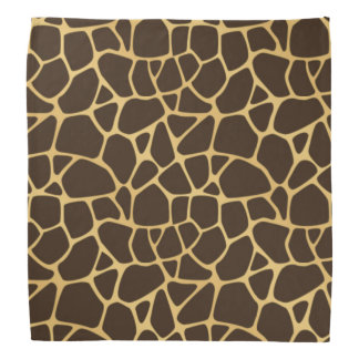 Giraffe Spotted Background Head Kerchiefs