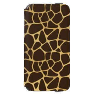 Giraffe Spotted Background Incipio Watson™ iPhone 6 Wallet Case
