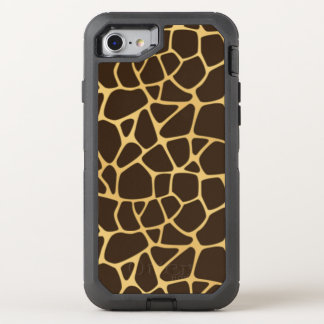 Giraffe Spotted Background OtterBox Defender iPhone 8/7 Case