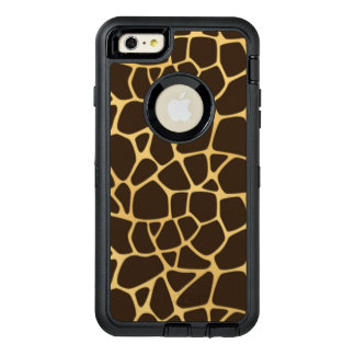 Giraffe Spotted Background OtterBox iPhone 6/6s Plus Case
