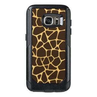 Giraffe Spotted Background OtterBox Samsung Galaxy S7 Case