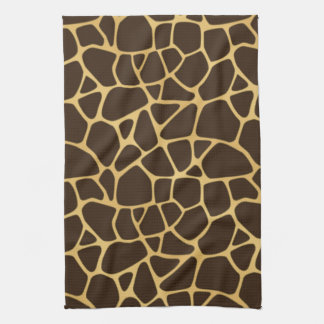 Giraffe Spotted Background Tea Towel