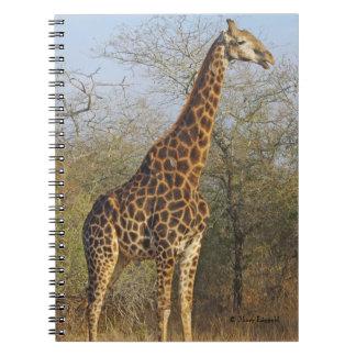Giraffe Standing Tall Journal