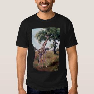 Giraffe STANDING TALL Mens Tshirt