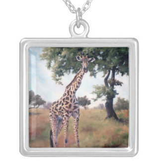 Giraffe STANDING TALL Necklace