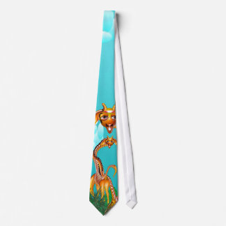 Giraffe Striped Tie