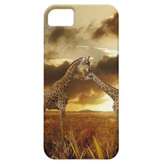 Giraffe Sunrise iPhone 5 Case