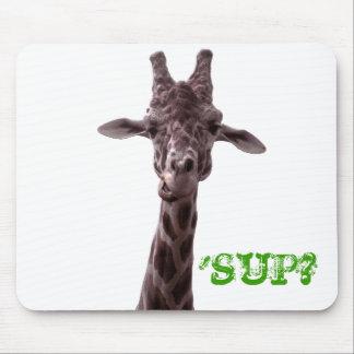 Giraffe, 'SUP? Mouse Mat