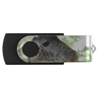 Giraffe Swivel USB 2.0 Flash Drive